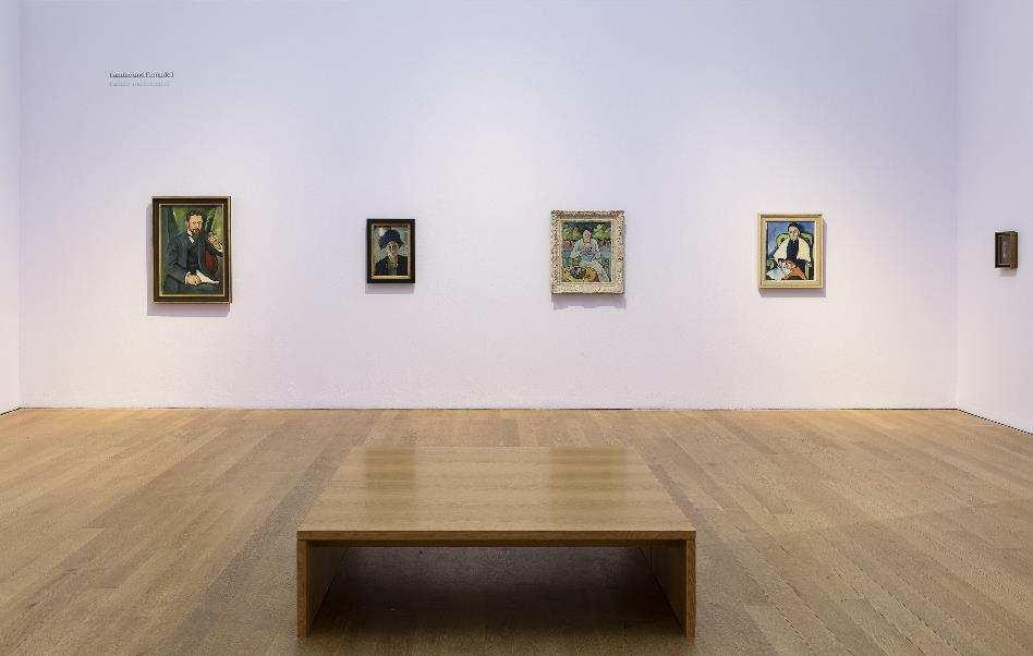 Museum_Wiesbaden_August_Macke_Paradies_Paradies_Ausstellungsansicht