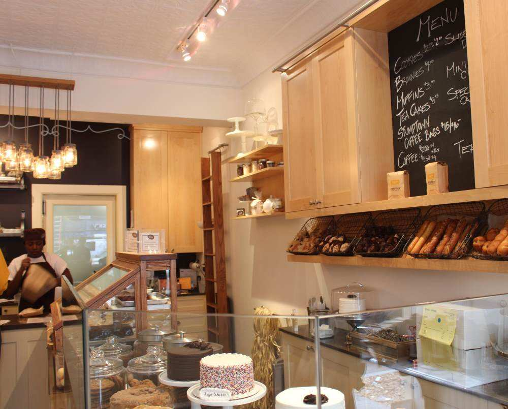 Inside a Bakery in Lexington Ave