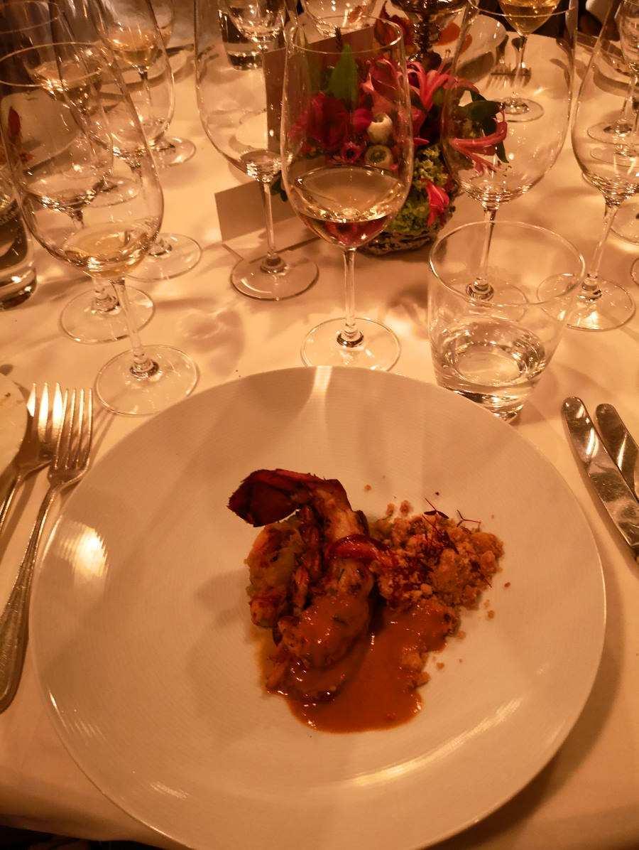 Chicken Kurchan_Dinner Event beim Rheingau Gourmet und Wein Festivals 2020 im Hotel Kronenschlösschen mit dem Sternekoch Vineet Bhatia aus London mit indischer Küche