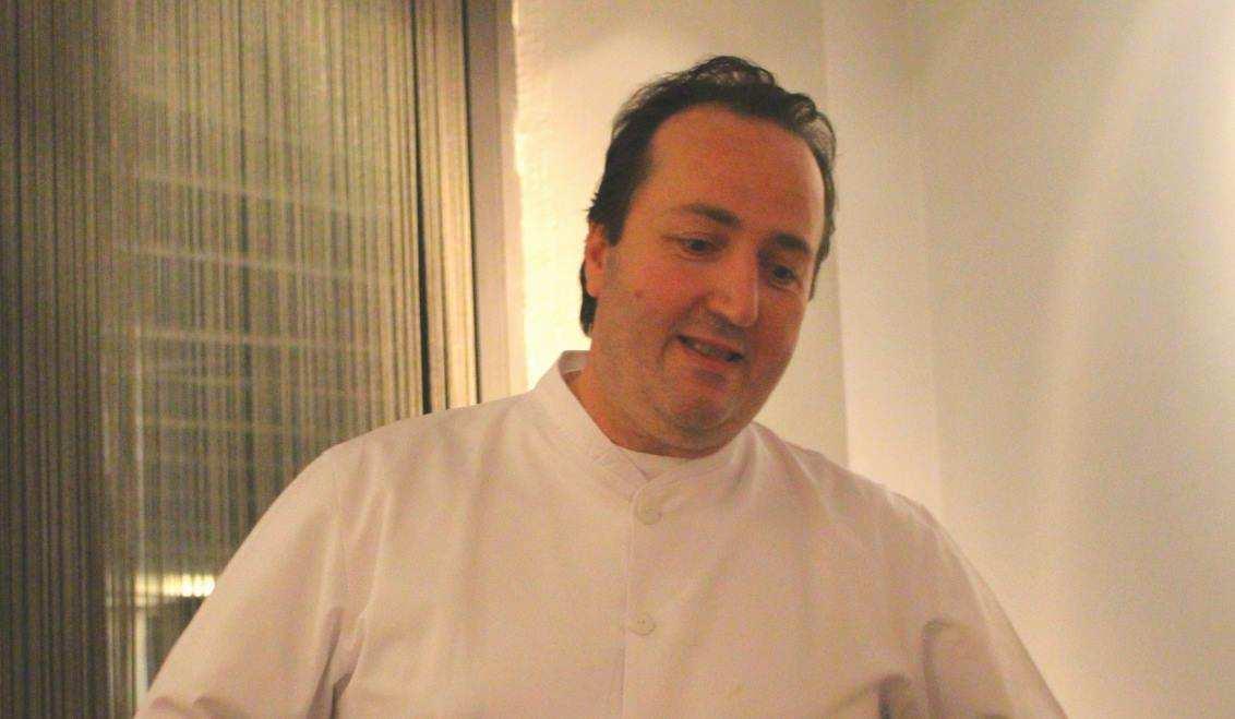 Carmelo Greco in seinem italienischen Restaurant in Frankfurt