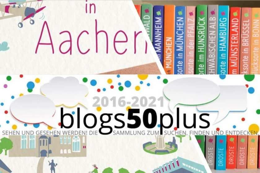 Collage Uschi Ronnenberg aus Aachen, Glücksorte Buchautorin