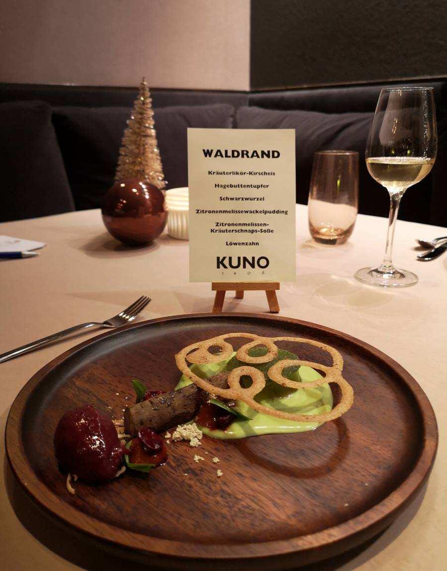 Feinschmecker-Restaurant KUNO 1408 in Würzburg