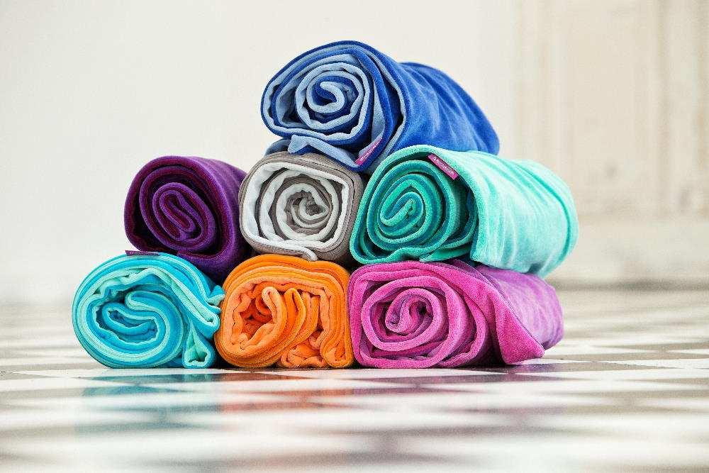 Farbenfreunde-Yoga-Accessoires