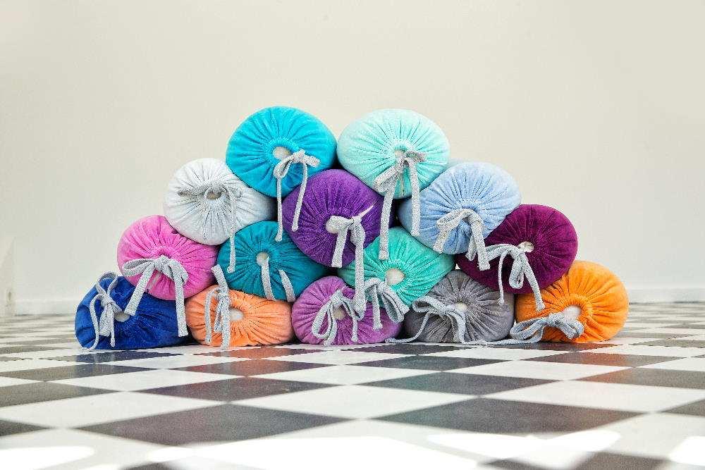 Farbenfreunde-Yoga-Accessoires Bolster