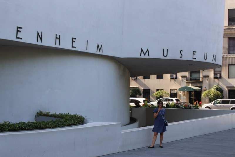 Farbenfreundin at Guggenheim Museum