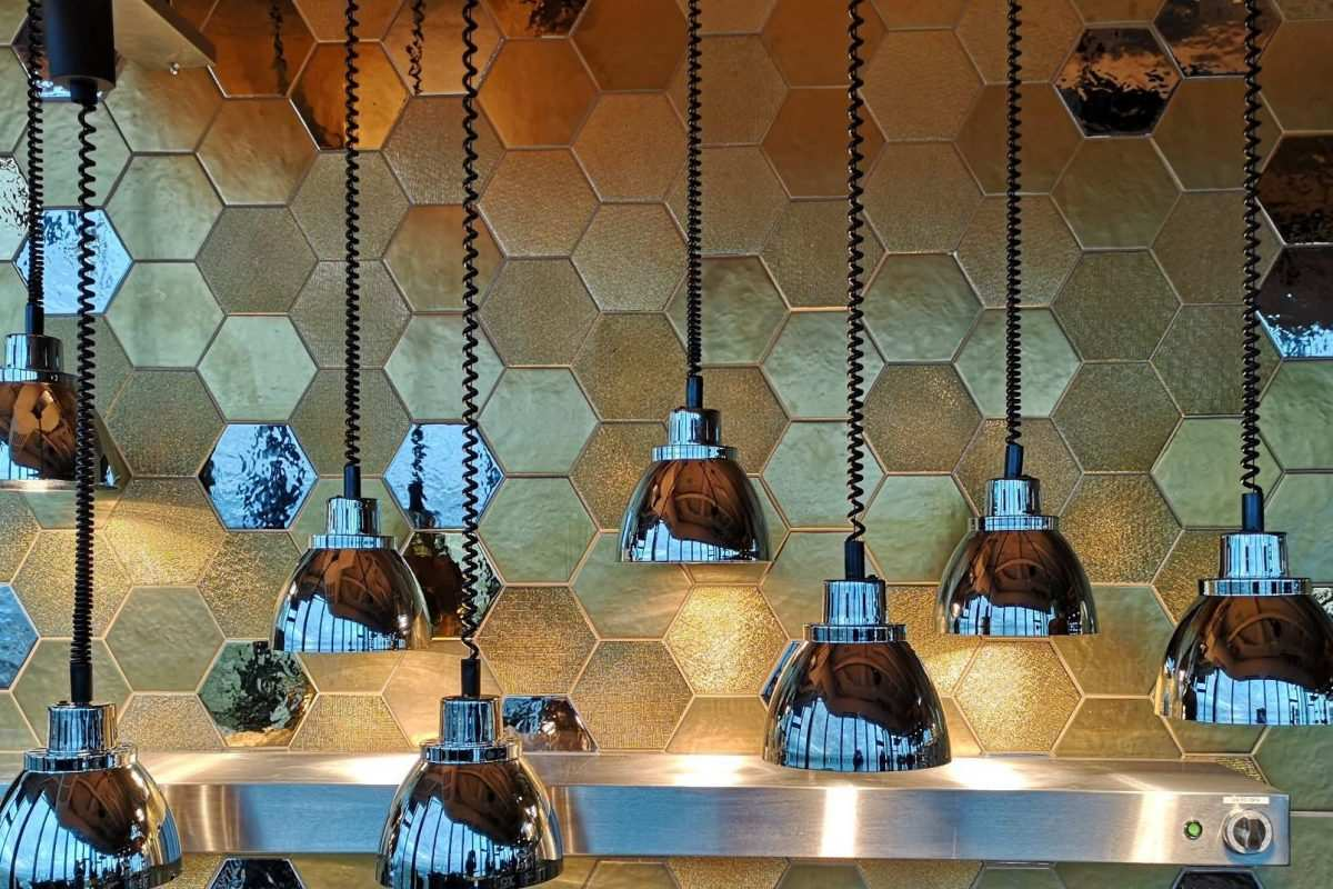 Lampen im Franziska Frankfurt