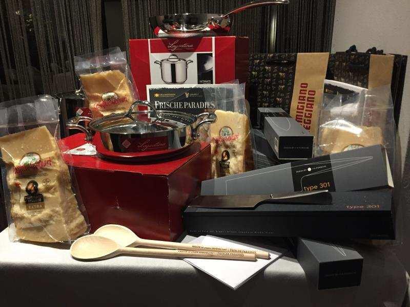 Das gab es als Gewinn Parmigiano Reggiano Challenge 2017