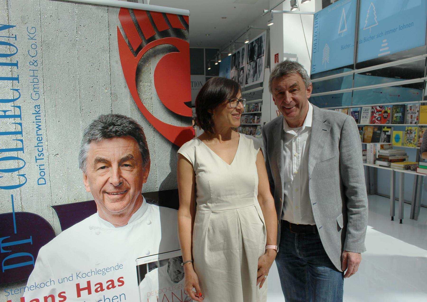 Hans Haas, Kochlegende vom Restaurant Tantris in München