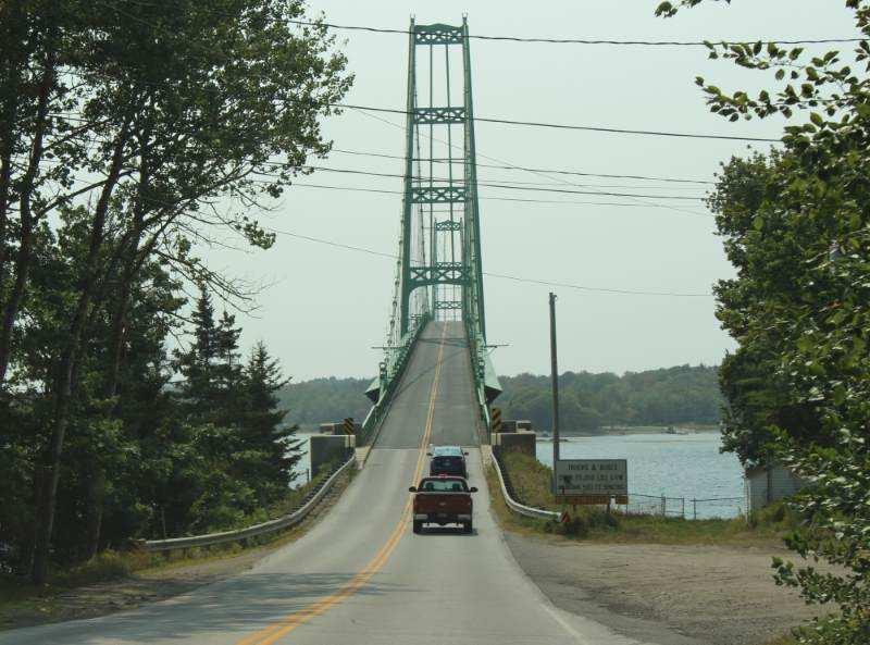 Highway bridge USA