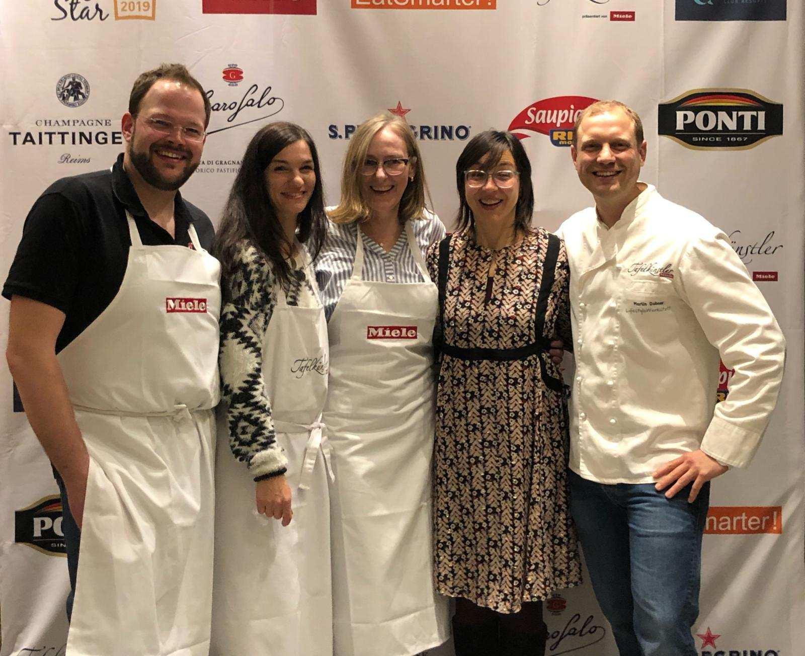 In der LifestyleWerkstatt in Mörfelden-Walldorf, der Miele Tafelkünstler Kochschule fand der Vorentscheid des CookingStar Kochwettbewerbs 2019 statt