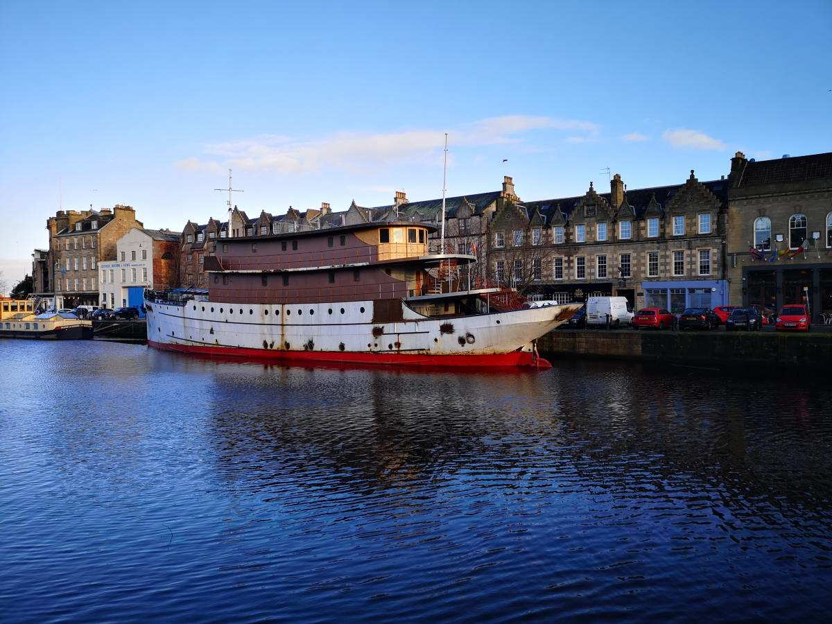 Leith Harbour