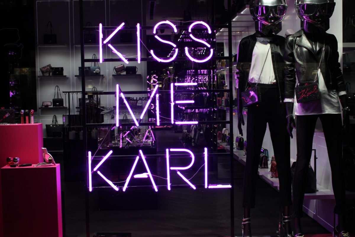 Karl Lagerfeld Schaufenster Gestaltung