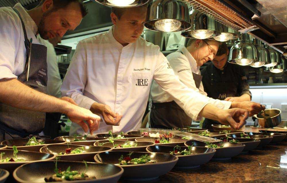 JRE Genusslabor #8, im Restaurant Burg Schwarzenstein