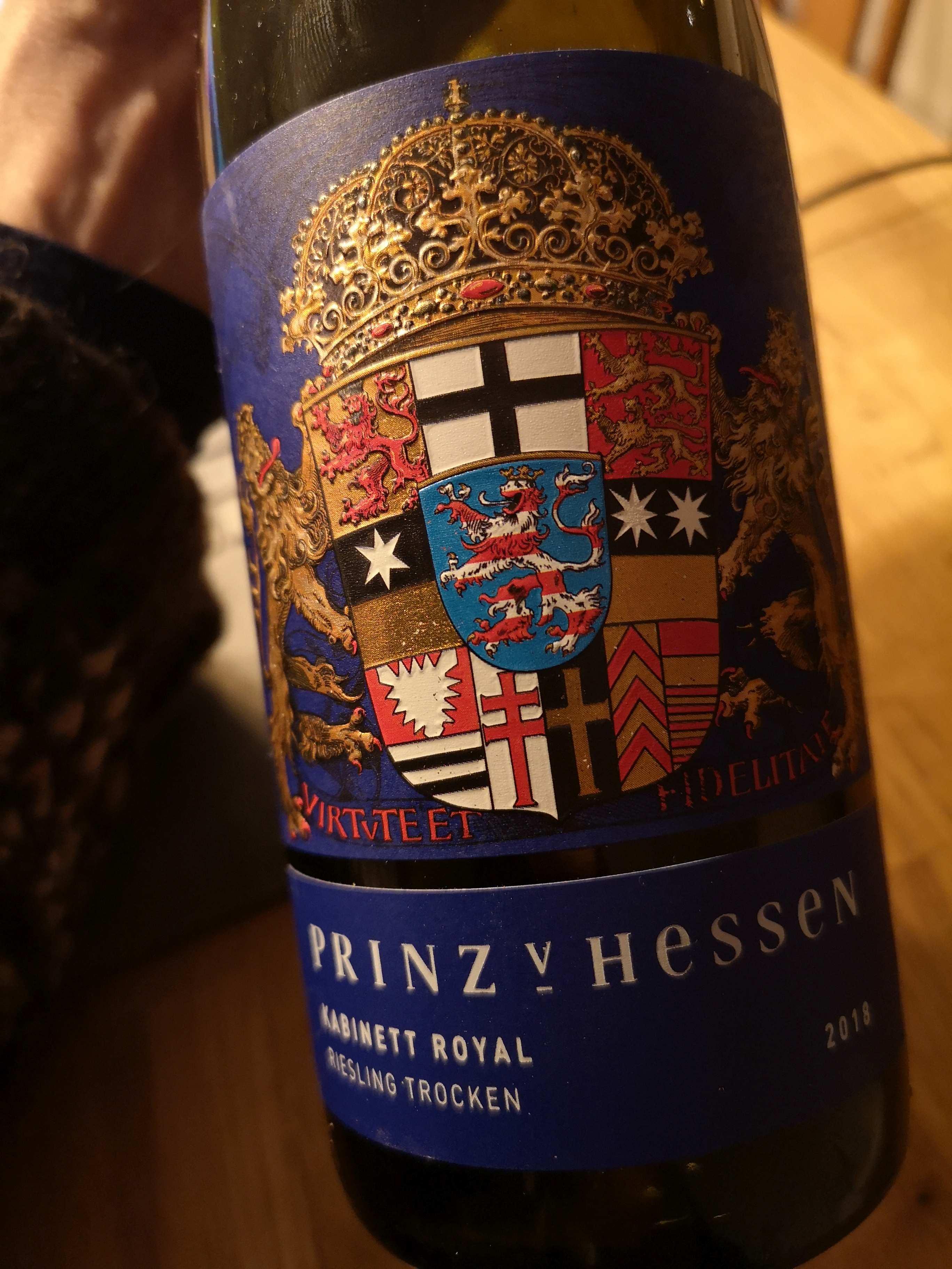 Prinz von Hessen Riesling
