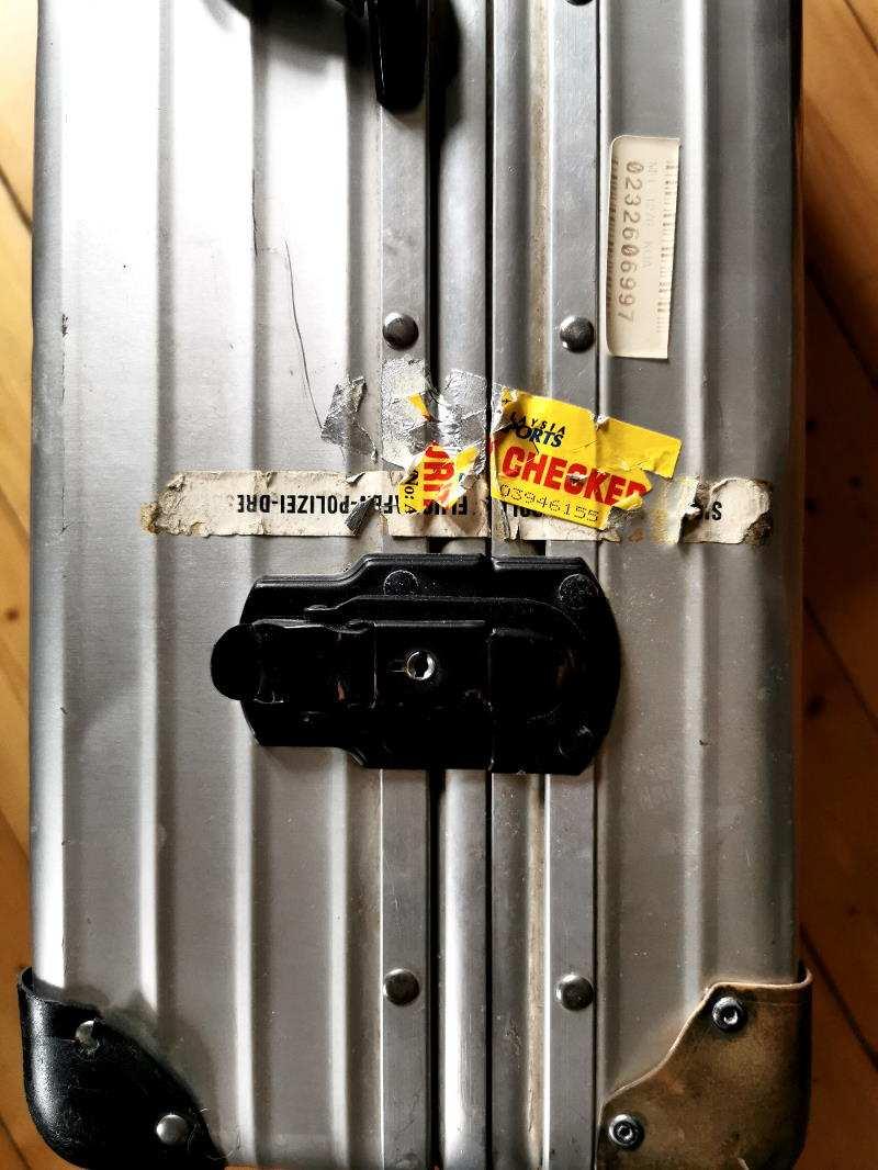 Rimowa Koffer Detail