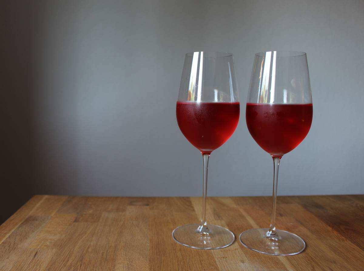 Rosé im Riedel-Glas