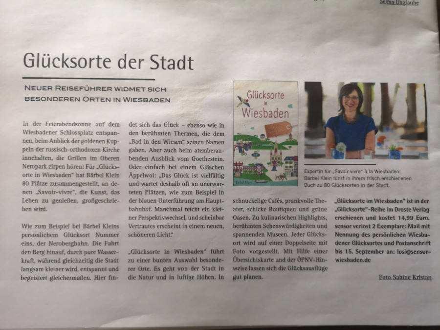 Stadtmagazin Sensor Wiesbaden Beitrag