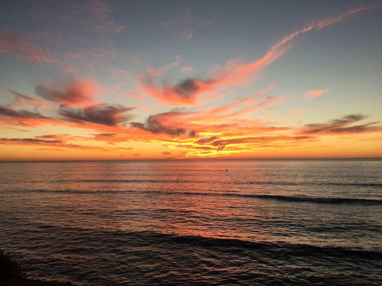 Sonnenuntergang Pazifik