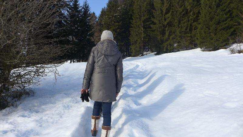 Farbenfreundin in Tirol