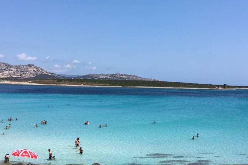 Strand Stintino Sardinien