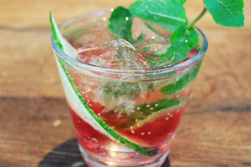 Traubensaft Gurke Drink