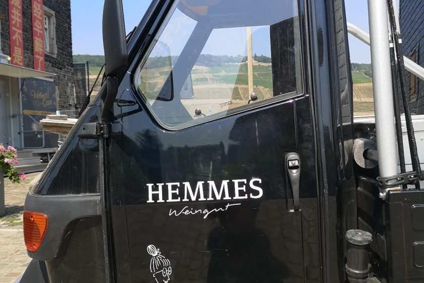 Riesling Weingut Hemmes, Bingen, Rheinhessen