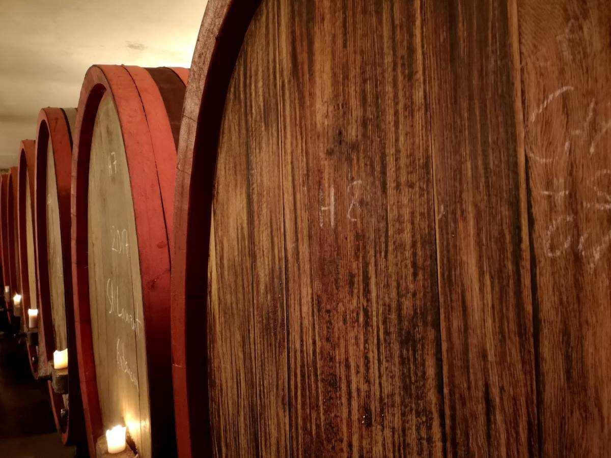 Weinfässer aus Holz