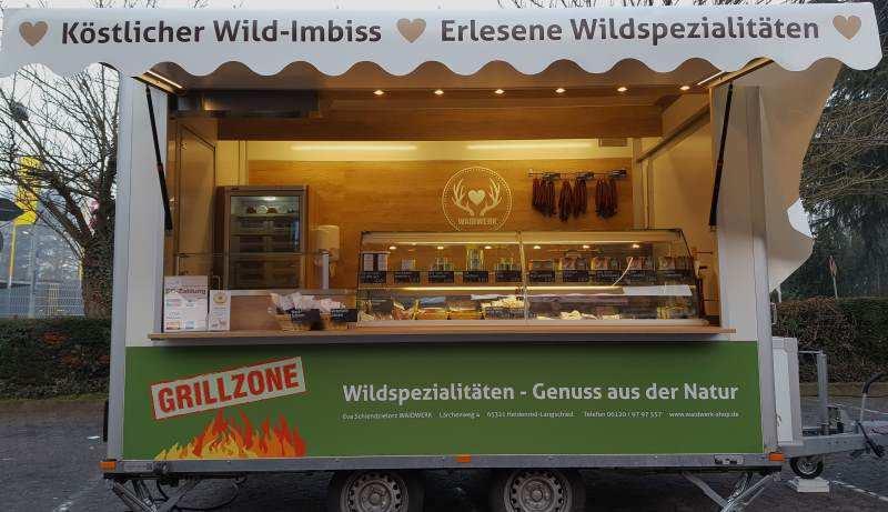 Eva Schiendzielorz von Waidwerk Wildspezialitäten