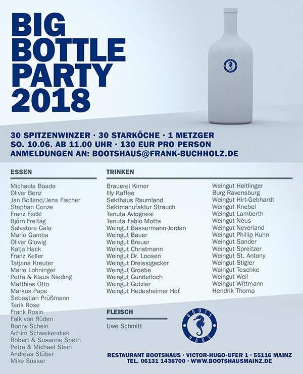 BIg Bottle Party 2018 im Bootshaus Mainz