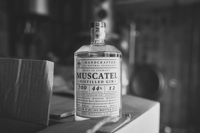 Muscatel Gin aus Mainz